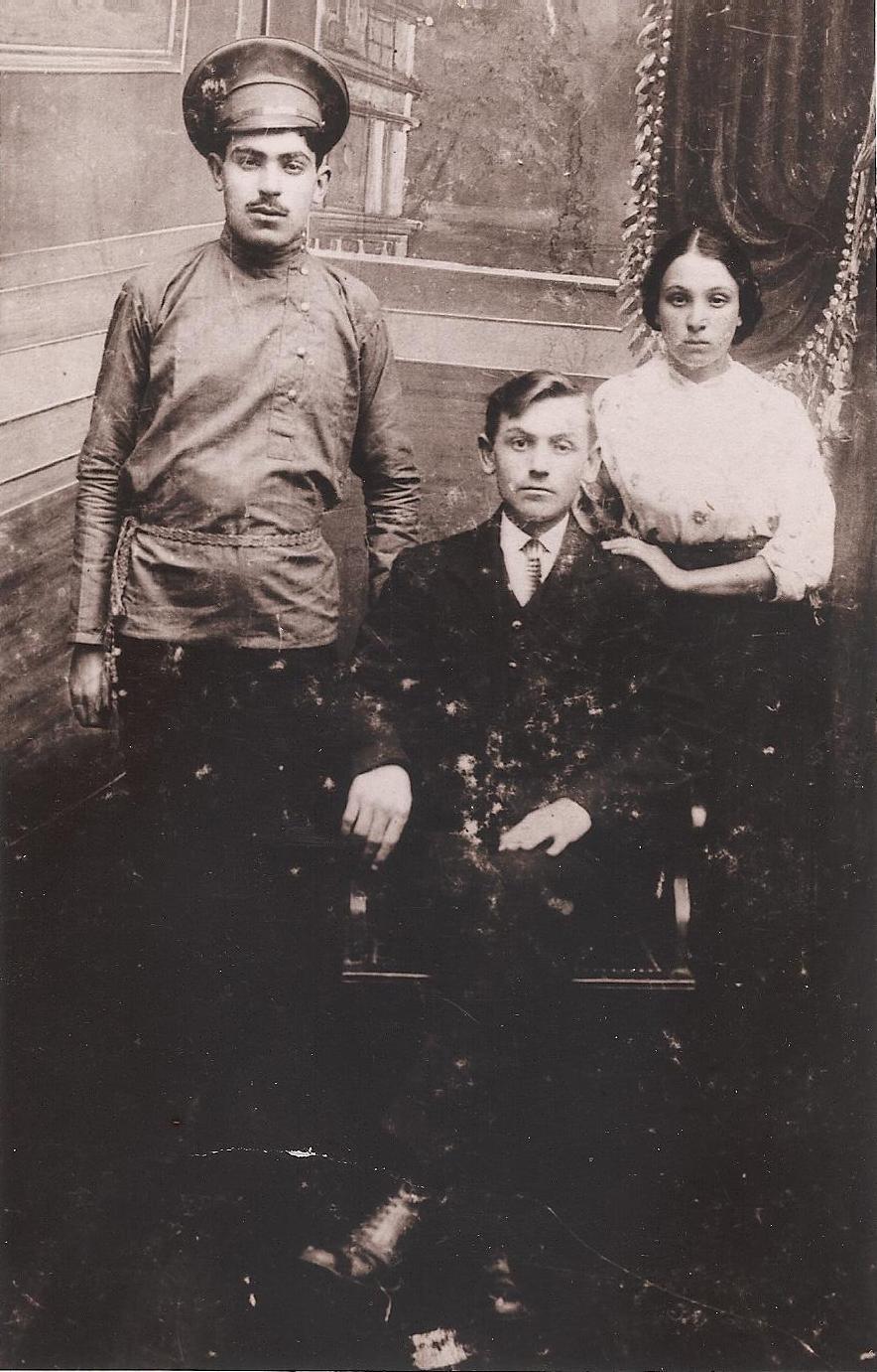 старые дореволюционные фото. Граф Боснак.