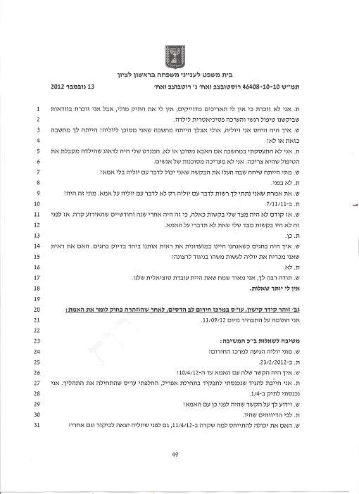 принудительная психиатрия и тюрьмы для детей в Израиле